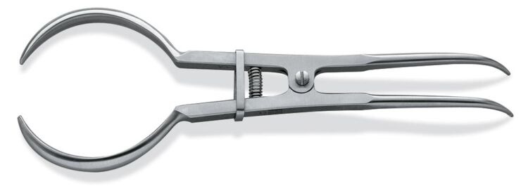 Rubber Dam Clamp Forceps