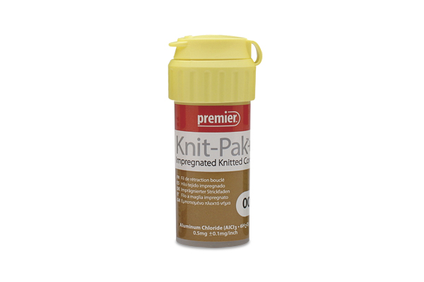 Knit-Pak+ Impregnated Knitted Gingival Retraction Cord