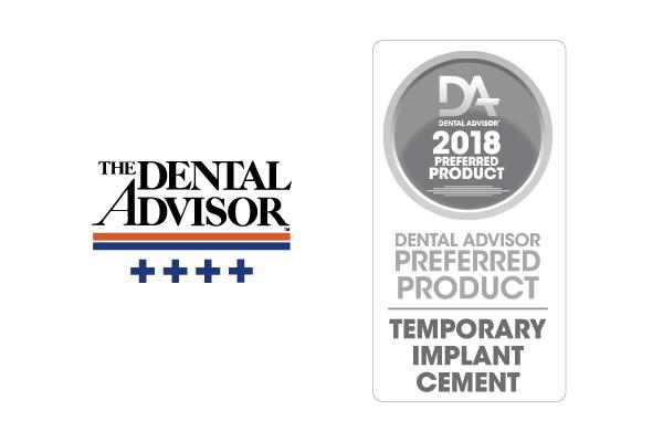 Premier Implant Cement awards