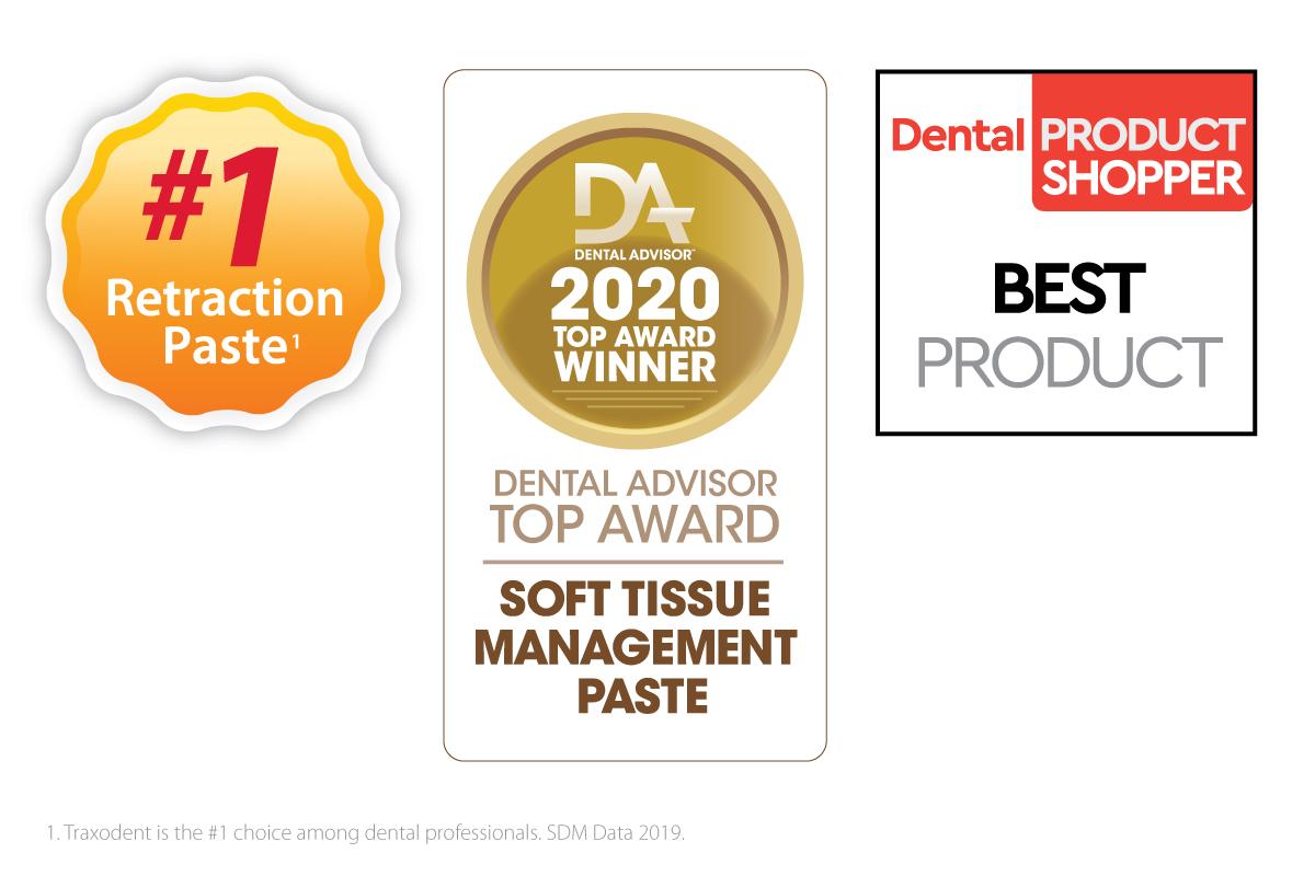 Premier Dental Traxodent - Award logos