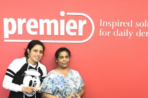 Premier Promise recipient