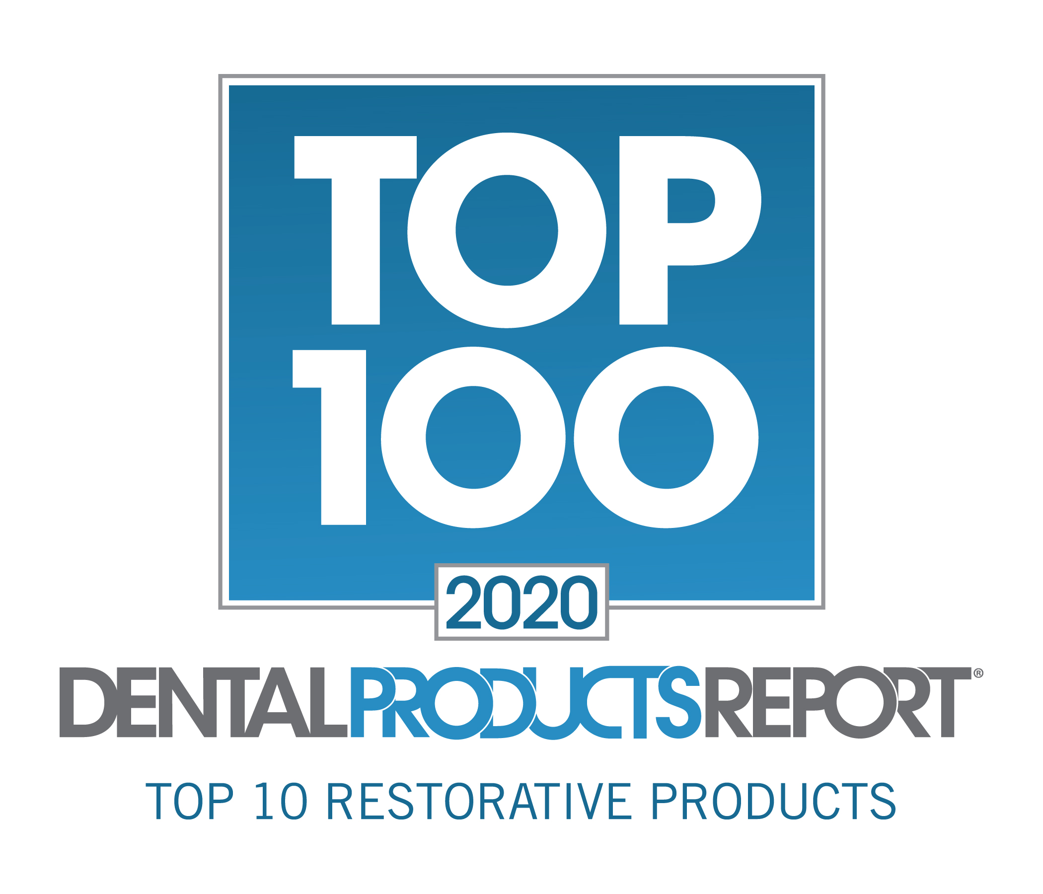 Dental Product Reports Top 10 Restorative Products Award