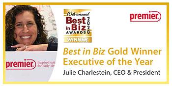 Premier® Wins Gold in Best in Biz Awards 2020 International