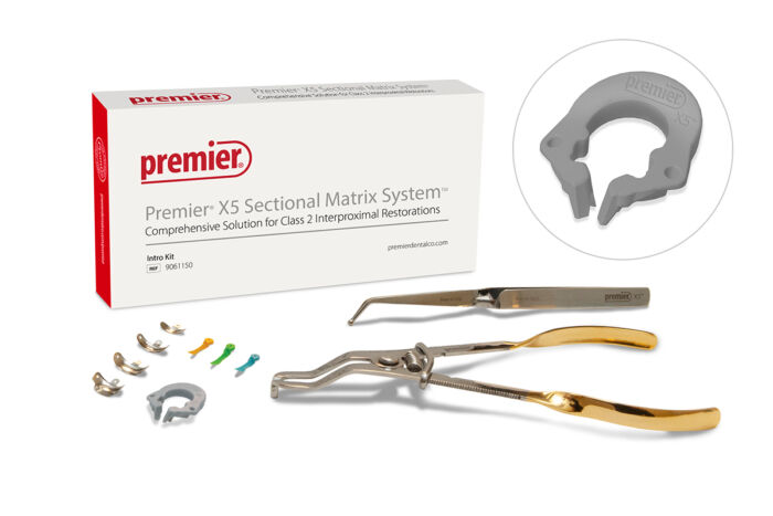 Premier X5 Section Matrix System Intro Kit with Ring